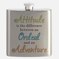Attitude Quote Flask