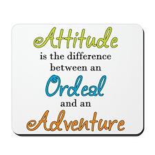 Attitude Quote Mousepad