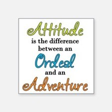 Attitude Quote Sticker