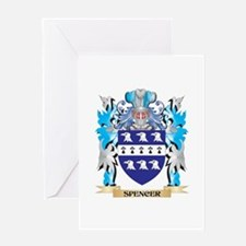 Spencer Coat of Arms - Family Crest Greeting Cards