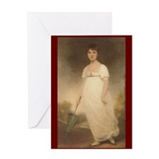 bennetgirls Jane Austen quote Greeting Card