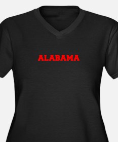 ALABAMA-Fre red 600 Plus Size T-Shirt