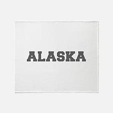 ALASKA-Fre gray 600 Throw Blanket