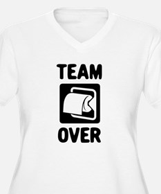 Team Over Plus Size T-Shirt