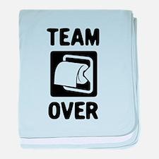 Team Over baby blanket