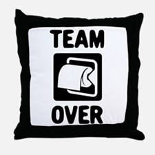 Team Over Throw Pillow
