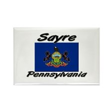 Sayre Pennsylvania Rectangle Magnet