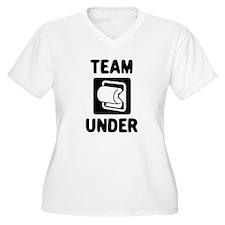 Team Under Plus Size T-Shirt