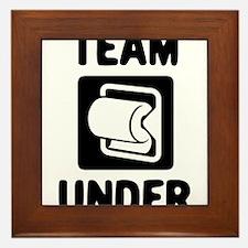 Team Under Framed Tile