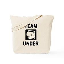 Team Under Tote Bag