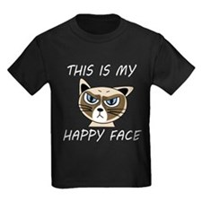 This Is My Happy Face (Dk) T-Shirt