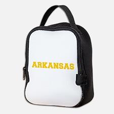 ARKANSAS-Fre gold 600 Neoprene Lunch Bag