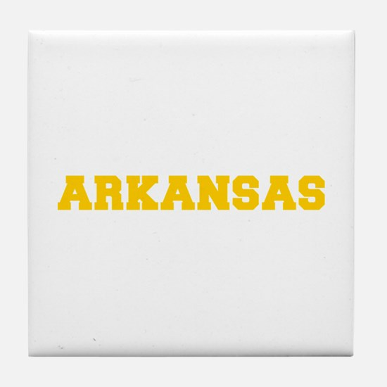 ARKANSAS-Fre gold 600 Tile Coaster