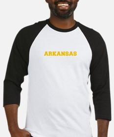 ARKANSAS-Fre gold 600 Baseball Jersey