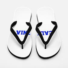 California-Fre blue 600 Flip Flops