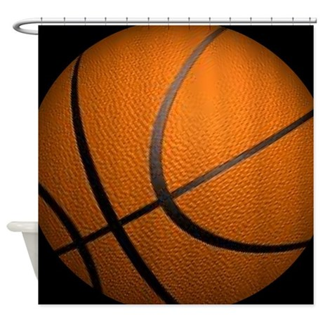 Basketball Sports Shower Curtain By Admin CP11861778