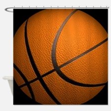 Basketball Sports Shower Curtain