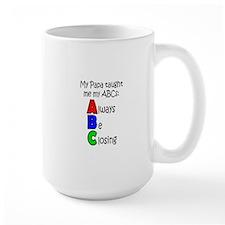 Always Be Closing - Papa Mugs