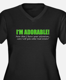 Im Adorable! Can I sell you some Plus Size T-Shirt