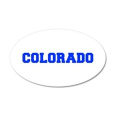 Colorado-Fre blue 600 Wall Decal