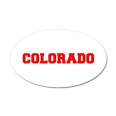 COLORADO-Fre red 600 Wall Decal
