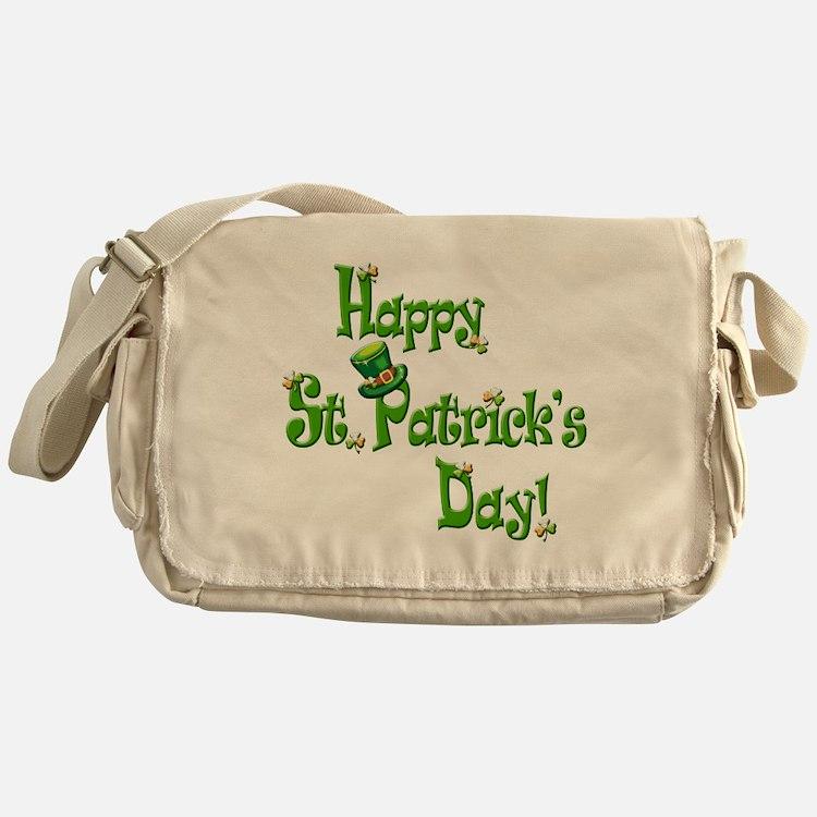 Happy St. Patricks Day Messenger Bag