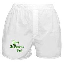 Happy St. Patricks Day Boxer Shorts