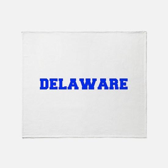 Delaware-Fre blue 600 Throw Blanket