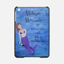 Michigan Mermaids wine iPad Mini Case