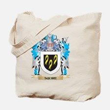 Squire Coat of Arms - Family Crest Tote Bag