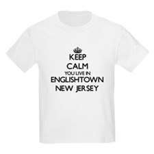 Keep calm you live in Englishtown New Jers T-Shirt