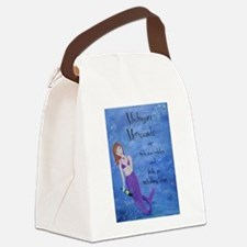 Michigan Mermaids wine Canvas Lunch Bag