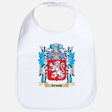 Stack Coat of Arms - Family Crest Bib