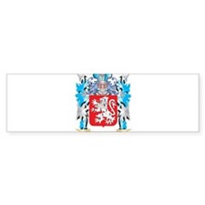 Stack Coat of Arms - Family Crest Bumper Bumper Sticker