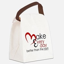 Make Every day Canvas Lunch Bag