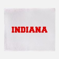 INDIANA-Fre red 600 Throw Blanket