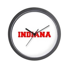 INDIANA-Fre red 600 Wall Clock