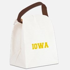 IOWA-Fre gold 600 Canvas Lunch Bag