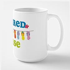 Flip Flops Retired Nurse Mug