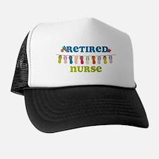 Flip Flops Retired Nurse Trucker Hat