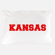 KANSAS-Fre red 600 Pillow Case