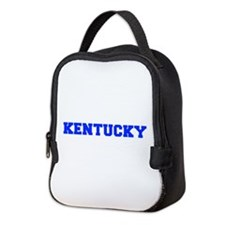 Kentucky-Fre blue 600 Neoprene Lunch Bag
