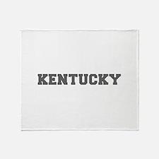 KENTUCKY-Fre gray 600 Throw Blanket