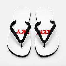 KENTUCKY-Fre red 600 Flip Flops