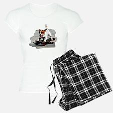 Jack Russel Terrier on Skat Pajamas