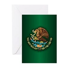 Mexico COA Greeting Cards