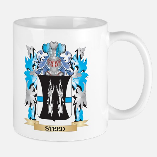 Steed Coat of Arms - Family Crest Mugs