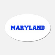 Maryland-Fre blue 600 Wall Decal