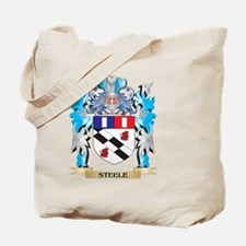 Steele Coat of Arms - Family Crest Tote Bag