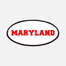 MARYLAND-Fre red 600 Patch